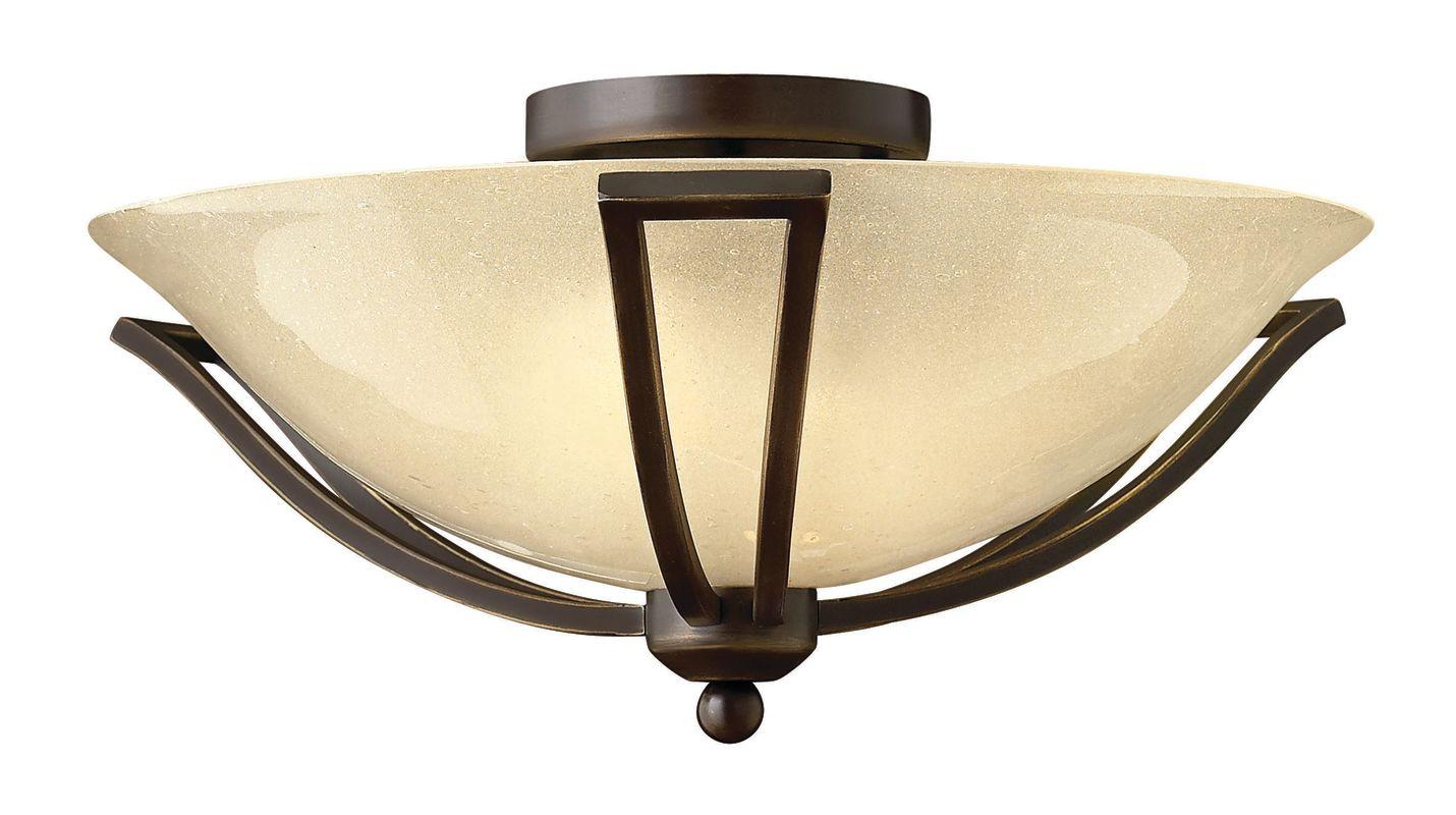 Hinkley Lighting 4660-GU24 2 Light Title 24 Fluorescent Semi-Flush Sale $229.00 ITEM#: 2635418 MODEL# :4660OB-GU24 UPC#: 640665466164 :