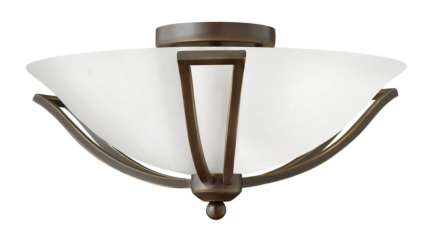 Hinkley Lighting 4660-GU24 2 Light Title 24 Fluorescent Semi-Flush Sale $229.00 ITEM#: 2635419 MODEL# :4660OB-OP-GU24 UPC#: 640665466188 :
