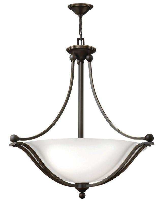 "Hinkley Lighting 4664-OP-LED 1 Light 32"" Height LED Indoor Bowl Shaped"