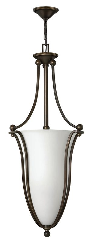 Hinkley Lighting 4665-OPAL 6 Light Indoor Urn Pendant with Etched Opal