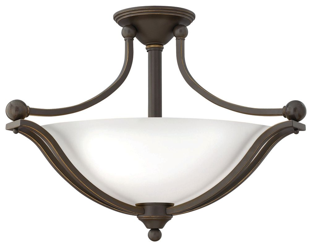 Hinkley Lighting 4669-OP-LED 1 Light LED Indoor Semi-Flush Ceiling Sale $669.00 ITEM#: 2362193 MODEL# :4669OB-OP-LED UPC#: 640665466973 :