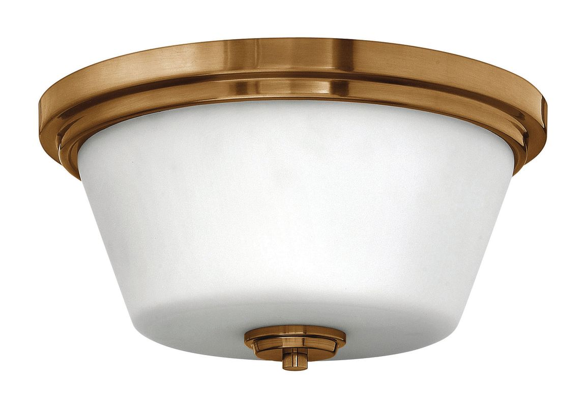 "Hinkley Lighting 5551-GU24 2 Light 15"" Width Title 24 Fluorescent"