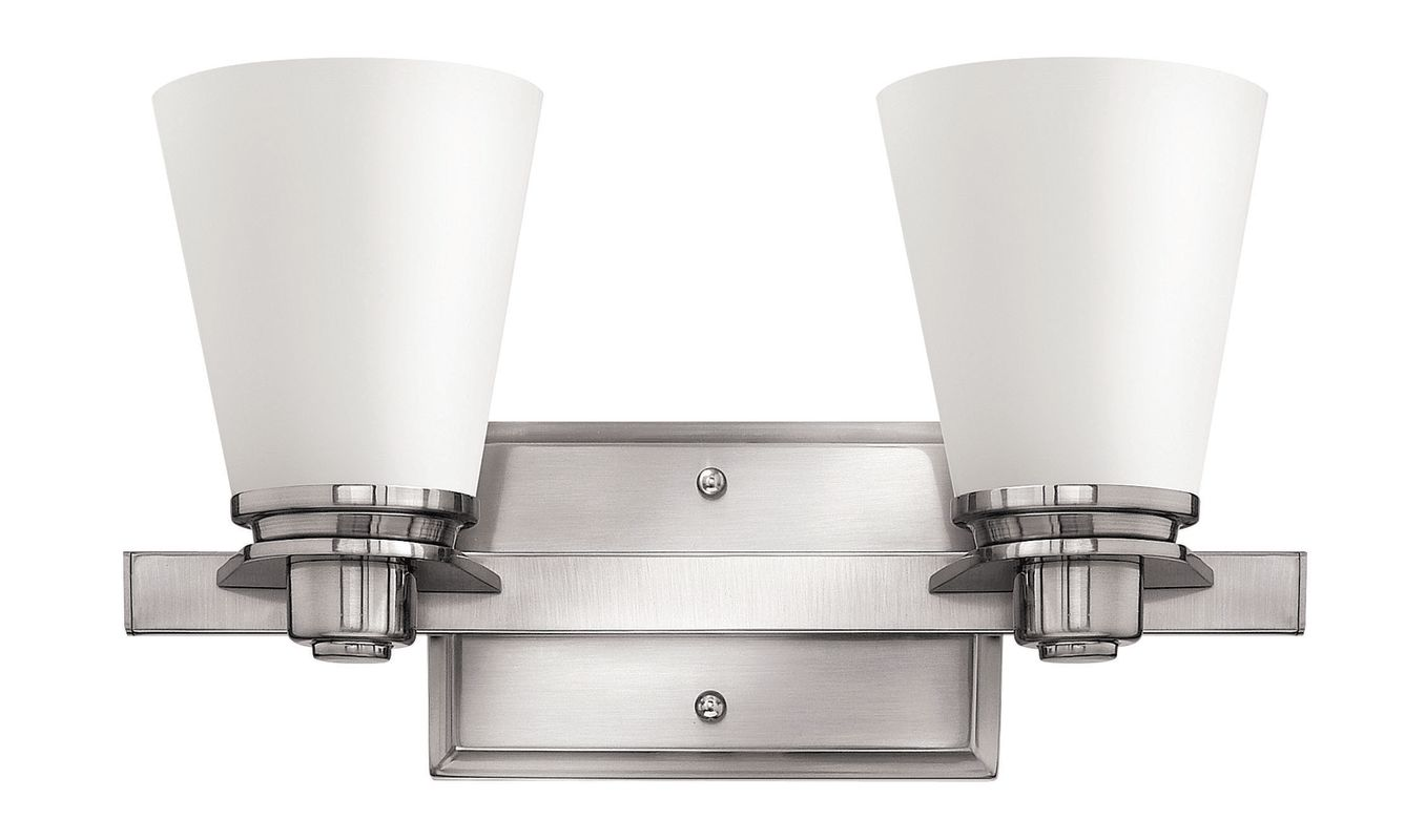 Hinkley Lighting 5552-LED 2 Light LED Bathroom Vanity Light from the Sale $289.00 ITEM#: 2635553 MODEL# :5552BN-LED UPC#: 640665555479 :