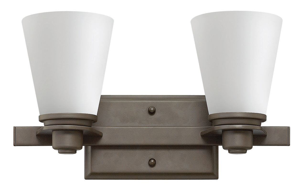 Hinkley Lighting 5552-LED 2 Light LED Bathroom Vanity Light from the Sale $289.00 ITEM#: 2635558 MODEL# :5552KZ-LED UPC#: 640665555547 :
