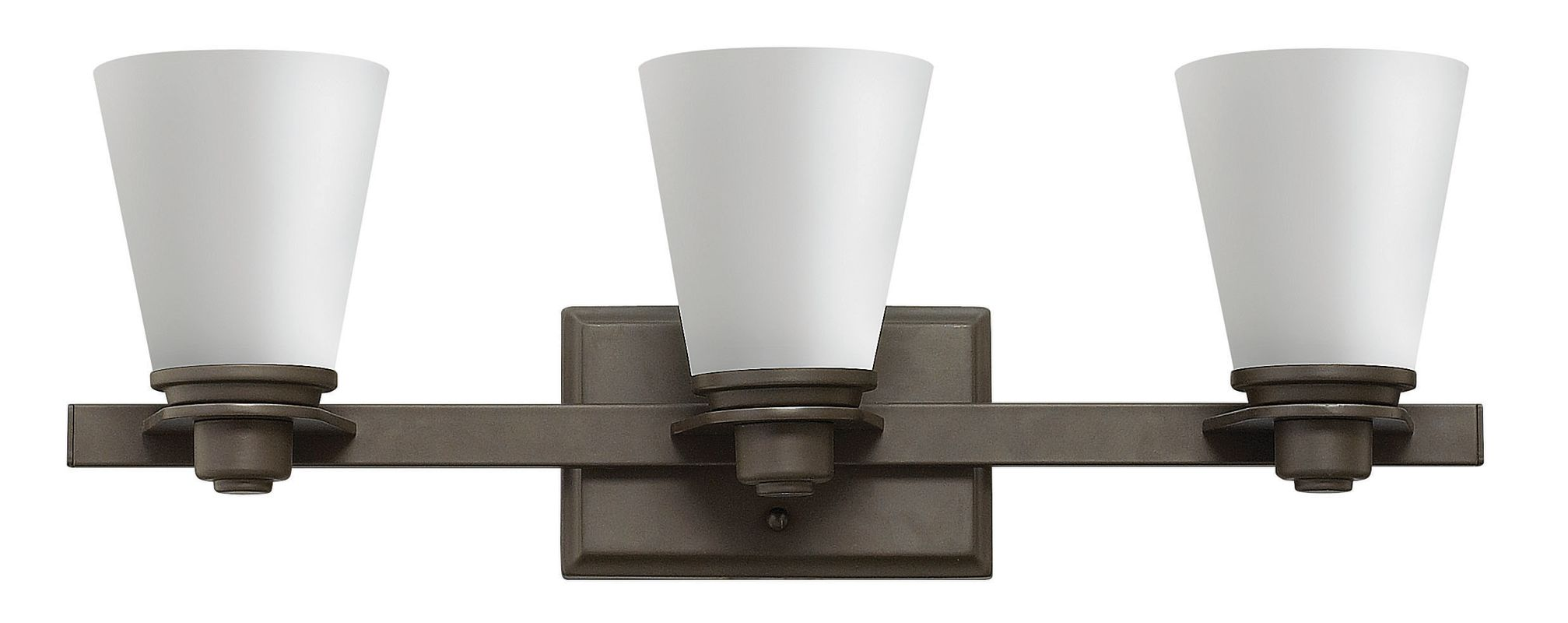 Hinkley Lighting 5553-GU24 3 Light Title 24 Fluorescent Bathroom