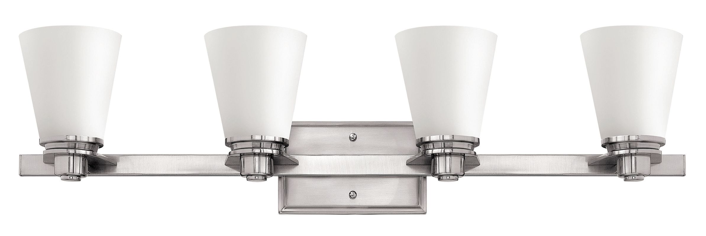 Hinkley Lighting 5554-GU24 4 Light Title 24 Fluorescent Bathroom Sale $299.00 ITEM#: 2635562 MODEL# :5554BN-GU24 UPC#: 640665555578 :