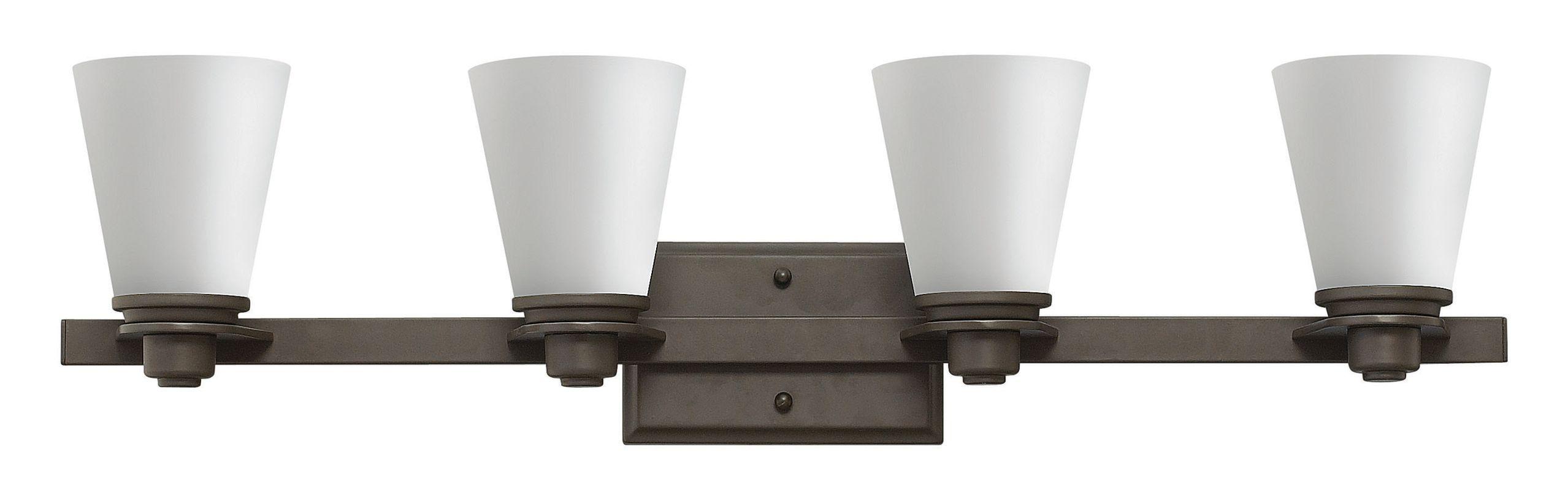 Hinkley Lighting 5554 4 Light Bathroom Vanity Light from the Avon Sale $259.00 ITEM#: 2635566 MODEL# :5554KZ UPC#: 640665555462 :