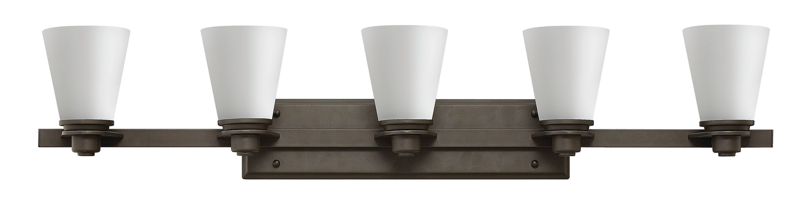 Hinkley Lighting 5555 5 Light Bathroom Vanity Light from the Avon Sale $339.00 ITEM#: 2635569 MODEL# :5555KZ UPC#: 640665555523 :