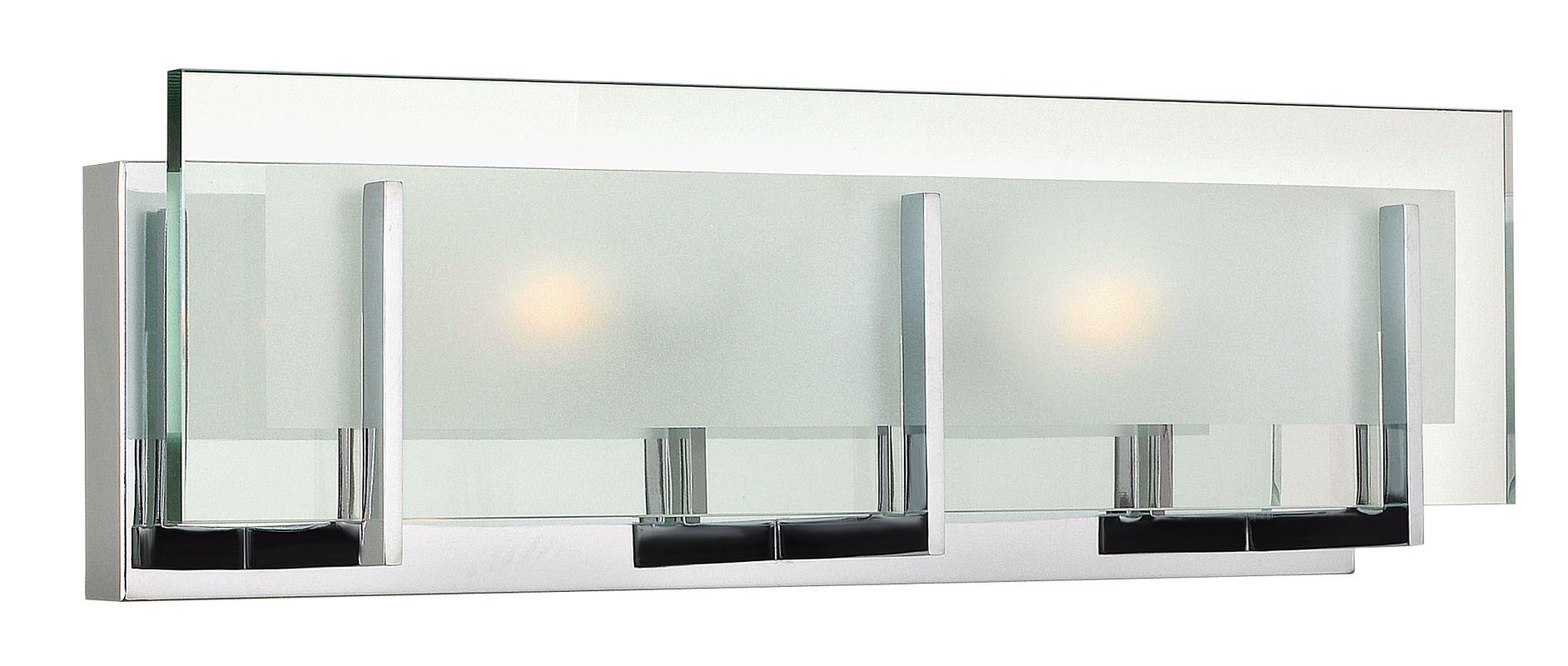 "Hinkley Lighting 5652 2 Light 18"" Width ADA Compliant Bath Bar from Sale $165.00 ITEM#: 2234000 MODEL# :5652CM UPC#: 640665565232 :"