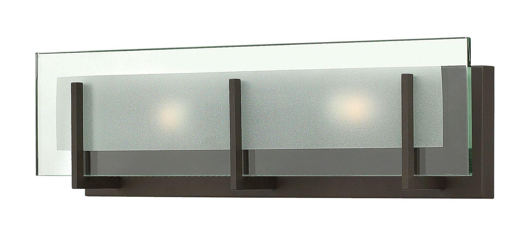 "Hinkley Lighting 5652 2 Light 18"" Width ADA Compliant Bath Bar from Sale $165.00 ITEM#: 2635589 MODEL# :5652OZ UPC#: 640665565249 :"