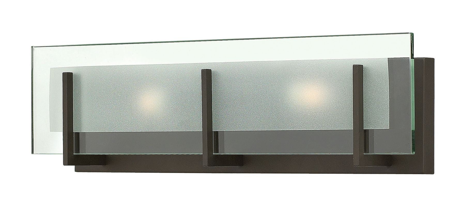 "Hinkley Lighting 5652-LED 2 Light 18"" Width ADA Compliant LED Bath Bar"