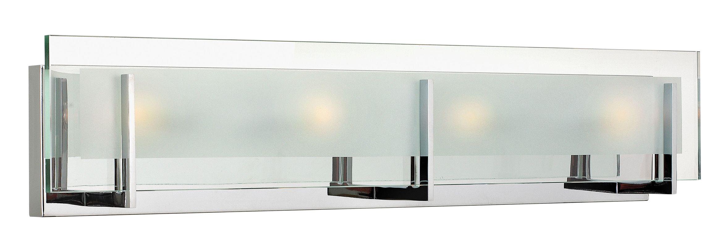 Hinkley Lighting 5654 4 Light ADA Compliant Bath Bar from the Latitude Sale $229.00 ITEM#: 2234001 MODEL# :5654CM UPC#: 640665565430 :