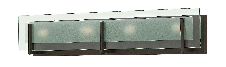 Hinkley Lighting 5654 4 Light ADA Compliant Bath Bar from the Latitude Sale $229.00 ITEM#: 2635591 MODEL# :5654OZ UPC#: 640665565447 :