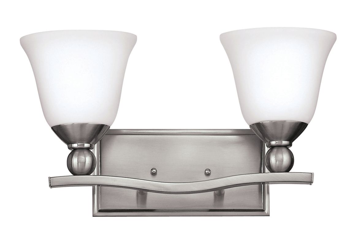 Hinkley Lighting 5892-GU24 2 Light Title 24 Fluorescent Bathroom Sale $149.00 ITEM#: 2635603 MODEL# :5892BN-GU24 UPC#: 640665589252 :