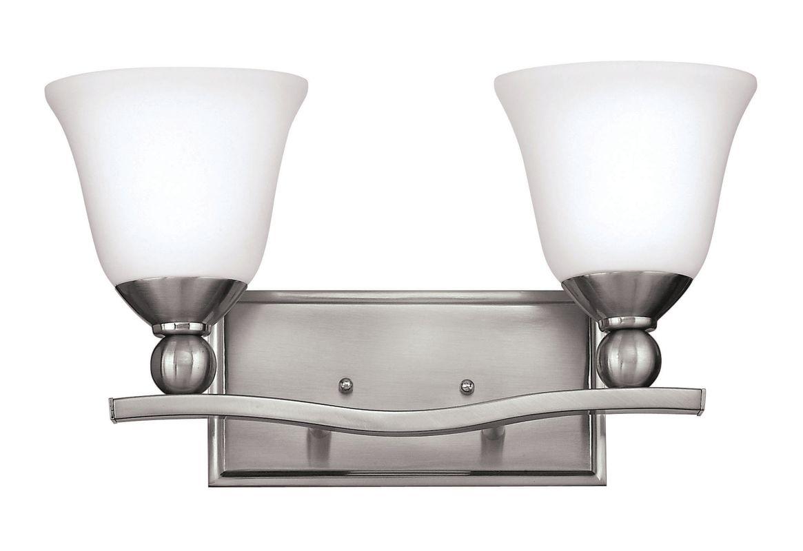 Hinkley Lighting 5892-LED 2 Light LED Bathroom Vanity Light from the Sale $279.00 ITEM#: 2635604 MODEL# :5892BN-LED UPC#: 640665589269 :