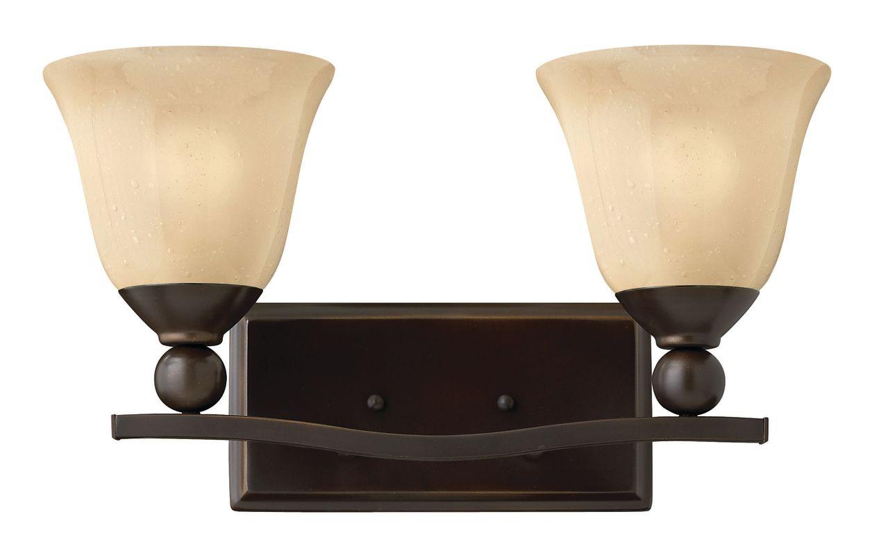 Hinkley Lighting 5892-LED 2 Light LED Bathroom Vanity Light from the Sale $279.00 ITEM#: 2635606 MODEL# :5892OB-LED UPC#: 640665589283 :