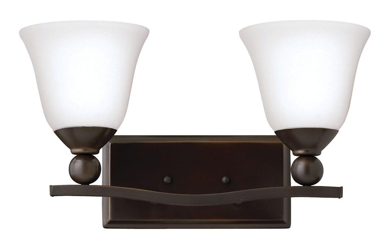 Hinkley Lighting 5892-LED 2 Light LED Bathroom Vanity Light from the Sale $279.00 ITEM#: 2635608 MODEL# :5892OB-OP-LED UPC#: 640665589344 :