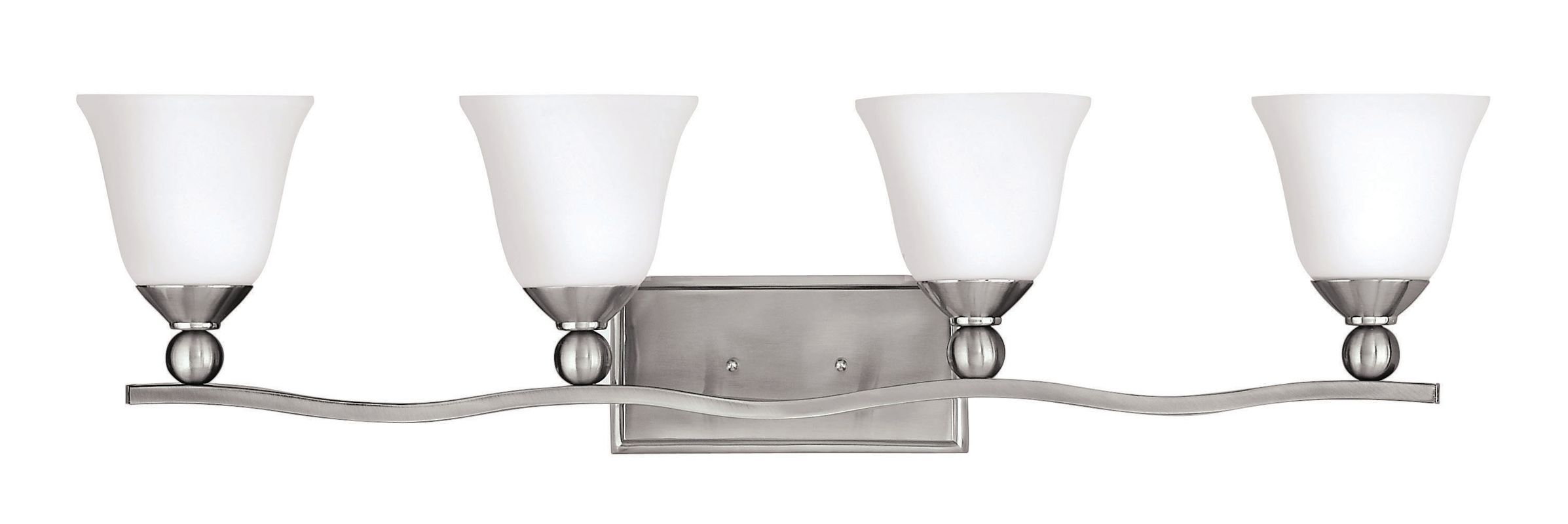Hinkley Lighting 5894-GU24 4 Light Title 24 Fluorescent Bathroom Sale $289.00 ITEM#: 2635609 MODEL# :5894BN-GU24 UPC#: 640665589467 :