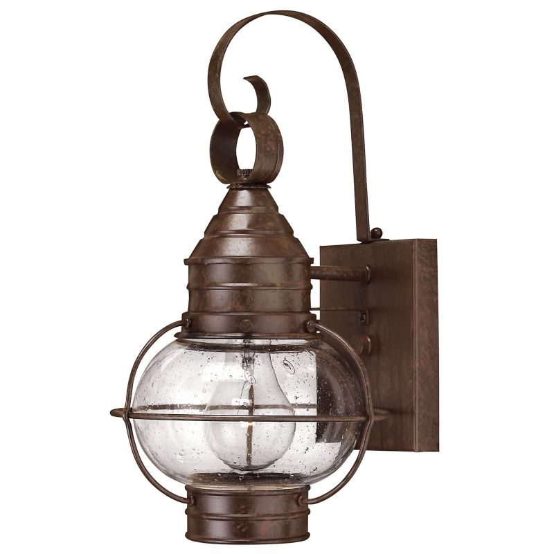"Hinkley Lighting H2206 14"" Height 1 Light Lantern Outdoor Wall Sconce"