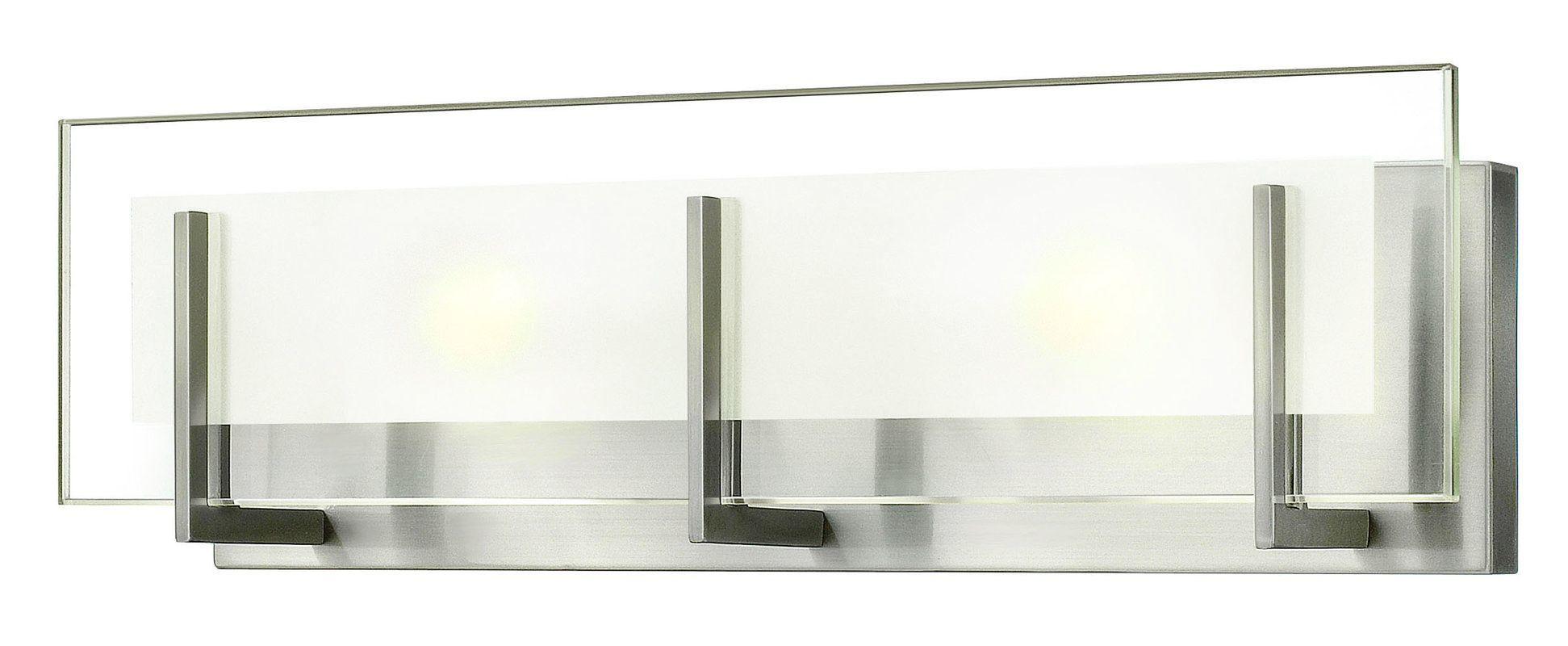 "Hinkley Lighting 5652 2 Light 18"" Width ADA Compliant Bath Bar from Sale $165.00 ITEM#: 1883984 MODEL# :5652BN UPC#: 640665565201 :"