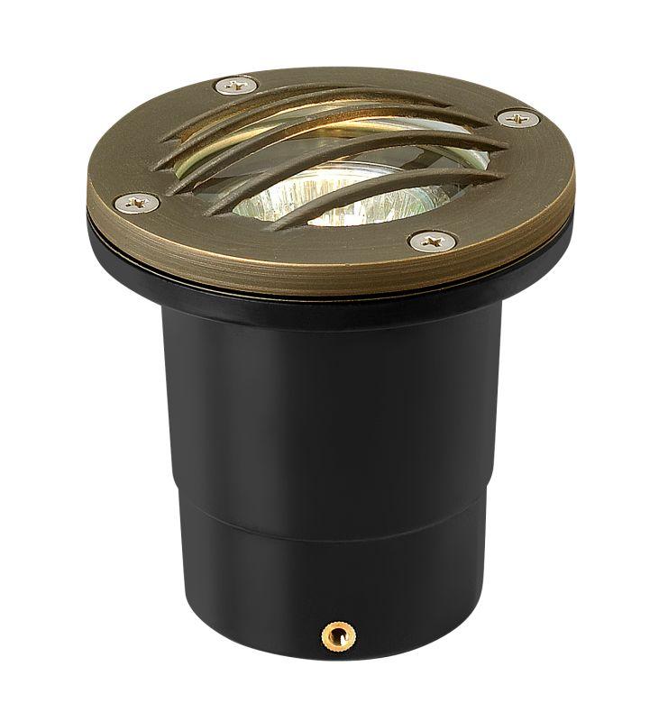 "Hinkley Lighting 16704 12v 20w Solid Brass 4"" Diameter Landscape Grill"