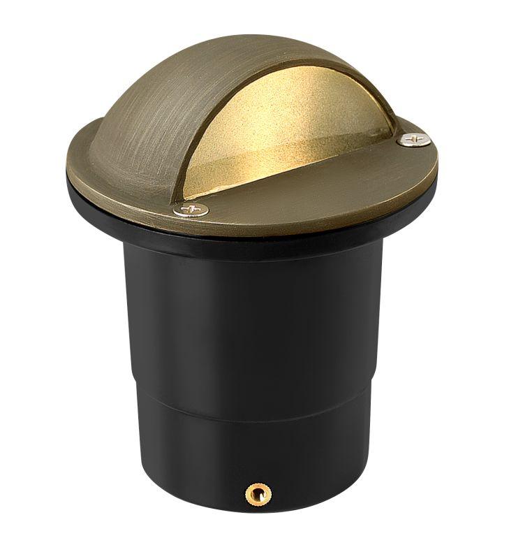 "Hinkley Lighting 16707 12v 20w Solid Brass 4"" Diameter Landscape Dome"
