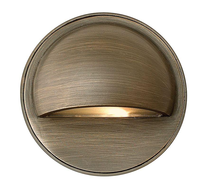 """Hinkley Lighting 16801 12v 20w Solid Brass 3.5"""" Diameter Landscape"""