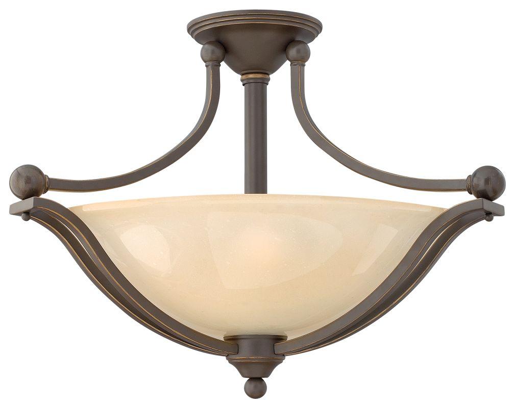 Hinkley Lighting 4669 3 Light Indoor Semi-Flush Ceiling Fixture from Sale $369.00 ITEM#: 1709972 MODEL# :4669OB UPC#: 640665466928 :