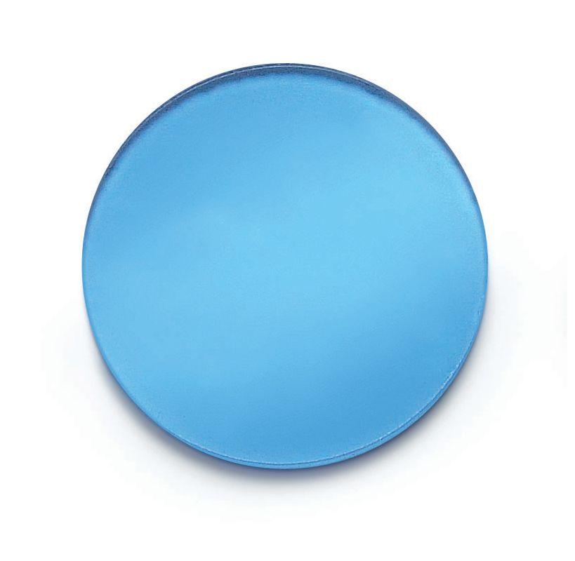 """Hinkley Lighting 0016CB 2"""" Corrective Blue Lens Accessory 6pk for Spot"""