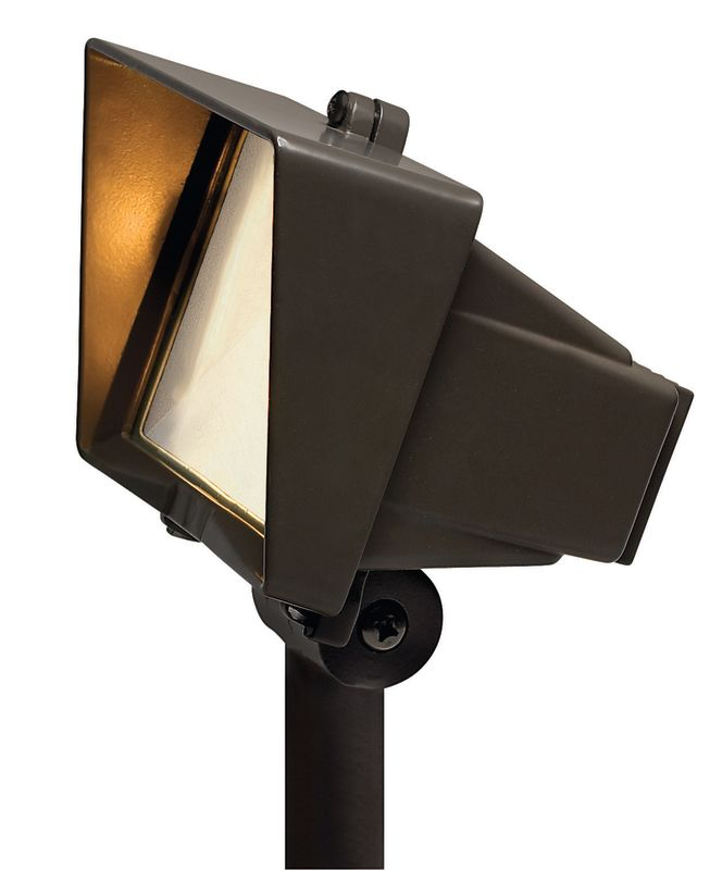 Hinkley Lighting H1521 12v 50w Cast Aluminum Frosted Glass Flood Light