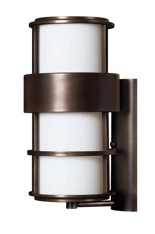 """Hinkley Lighting H1905 20.25"""" Height 1 Light Outdoor Wall Sconce from Sale $529.00 ITEM#: 310776 MODEL# :1905MT UPC#: 640665190526 :"""