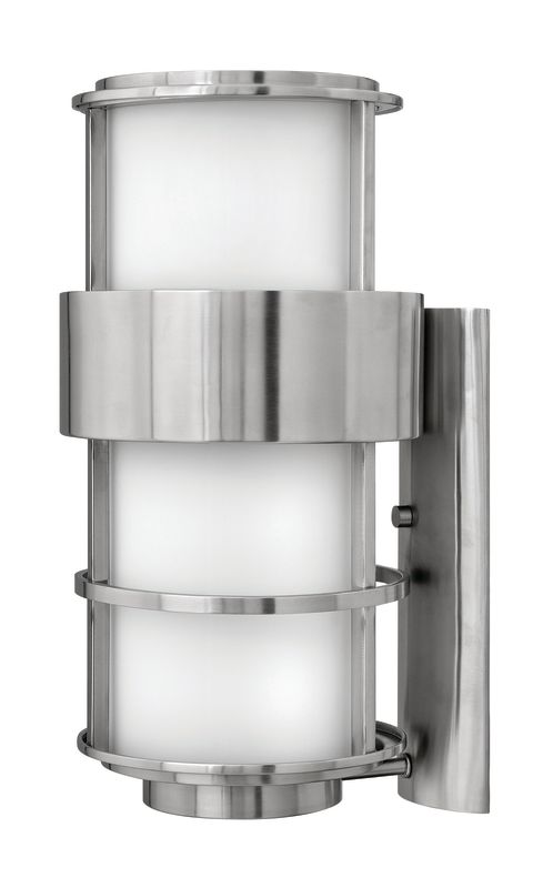 """Hinkley Lighting H1905 20.25"""" Height 1 Light Outdoor Wall Sconce from Sale $579.00 ITEM#: 1431922 MODEL# :1905SS UPC#: 640665190595 :"""