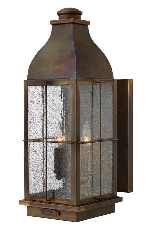 "Hinkley Lighting 2045 21"" Height 3 Light Lantern Outdoor Wall Sconce"
