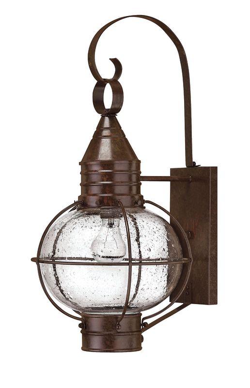 "Hinkley Lighting H2204 23.25"" Height 1 Light Lantern Outdoor Wall Sale $309.00 ITEM#: 310847 MODEL# :2204SZ UPC#: 640665220414 :"