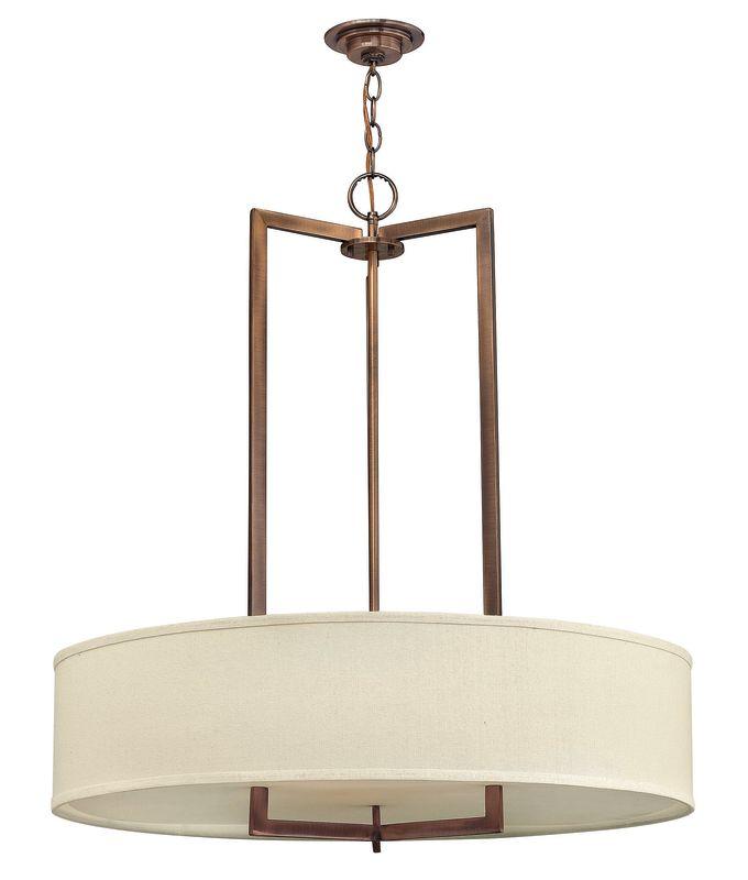 Hinkley Lighting 3206 3 Light Large Foyer Chandelier from the Hampton Sale $799.00 ITEM#: 1056103 MODEL# :3206BR UPC#: 640665320602 :