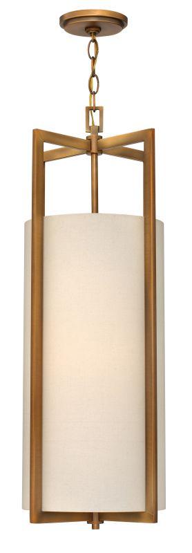 Hinkley Lighting 3212 4 Light Full Sized Pendant from the Hampton Sale $439.00 ITEM#: 1883665 MODEL# :3212BR UPC#: 640665321210 :