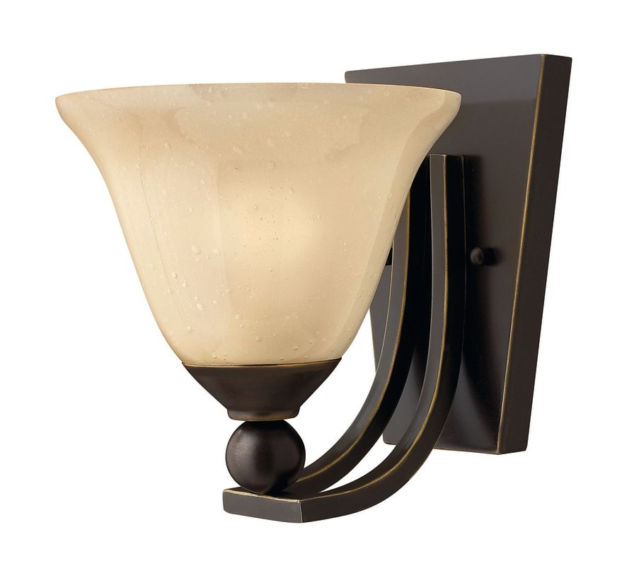 Hinkley Lighting H4650 1 Light Indoor Wall Sconce from the Bolla Sale $99.00 ITEM#: 311639 MODEL# :4650OB UPC#: 640665465020 :