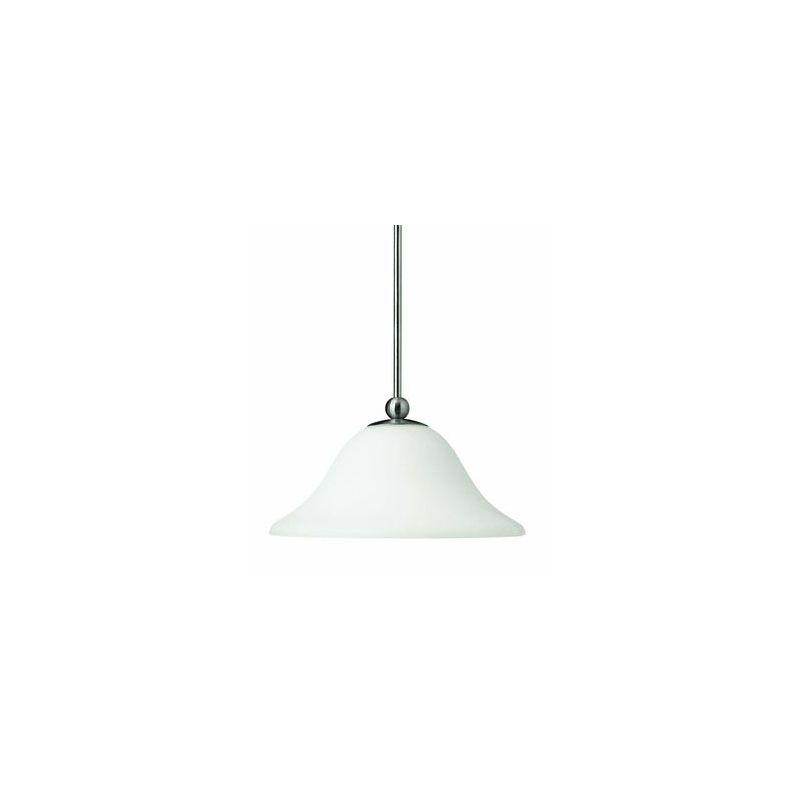 """Hinkley Lighting H4661 1 Light 8.25"""" Height Indoor Full Sized Pendant Sale $189.00 ITEM#: 311658 MODEL# :4661BN UPC#: 640665466119 :"""