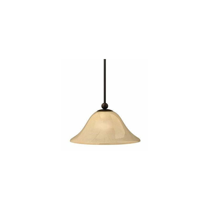 """Hinkley Lighting H4661 1 Light 8.25"""" Height Indoor Full Sized Pendant Sale $189.00 ITEM#: 311659 MODEL# :4661OB UPC#: 640665466126 :"""