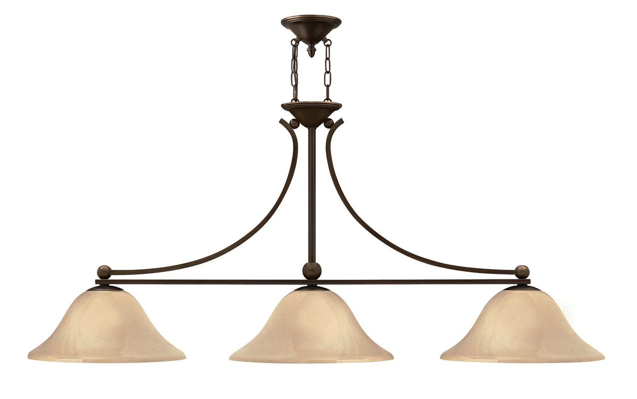 Hinkley Lighting H4666 Bolla 3 Light 1 Tier Linear Chandelier Olde Sale $839.00 ITEM#: 311669 MODEL# :4666OB UPC#: 640665466621 :