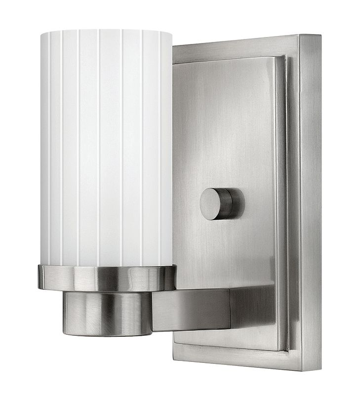 Hinkley Lighting 4970 1 Light Indoor Wall Sconce from the Midtown Sale $69.00 ITEM#: 1431976 MODEL# :4970BN UPC#: 640665497007 :