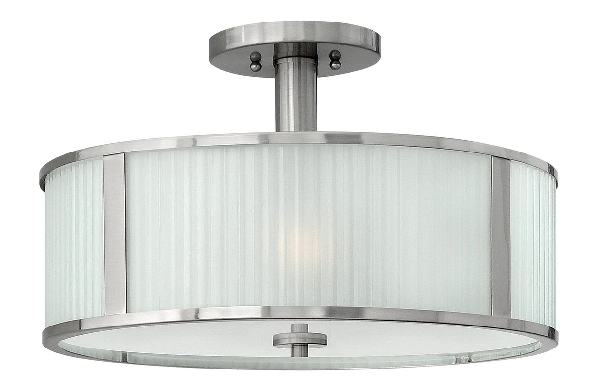Hinkley Lighting 4971 3 Light Indoor Semi-Flush Ceiling Fixture from