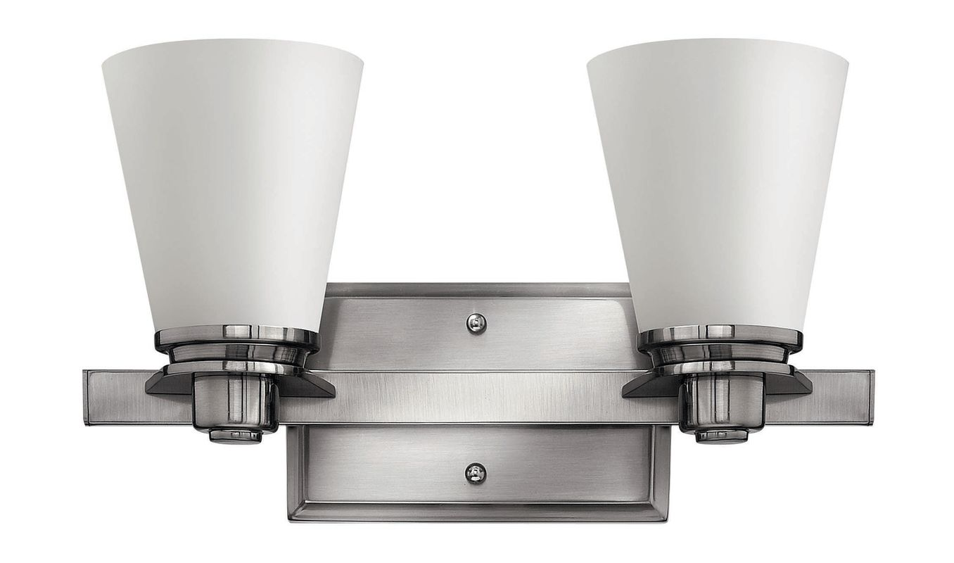 Hinkley Lighting 5552 2 Light Bathroom Vanity Light from the Avon Sale $139.00 ITEM#: 1056271 MODEL# :5552BN UPC#: 640665555202 :