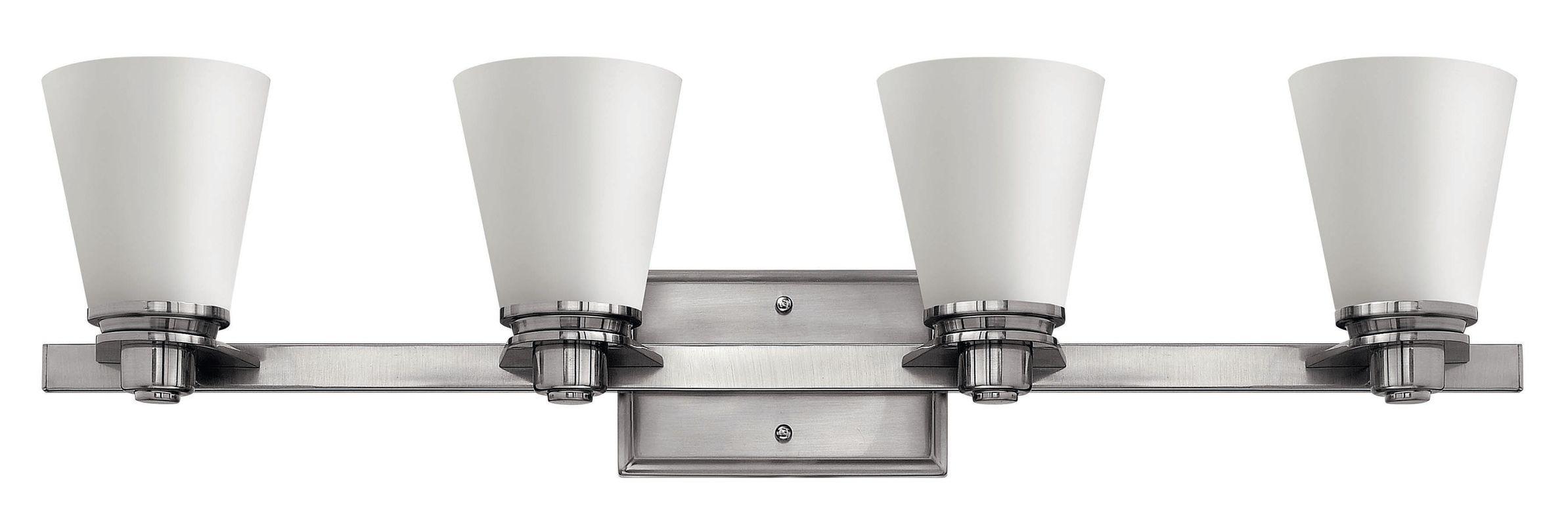 Hinkley Lighting 5554 4 Light Bathroom Vanity Light from the Avon Sale $259.00 ITEM#: 1056273 MODEL# :5554BN UPC#: 640665555400 :
