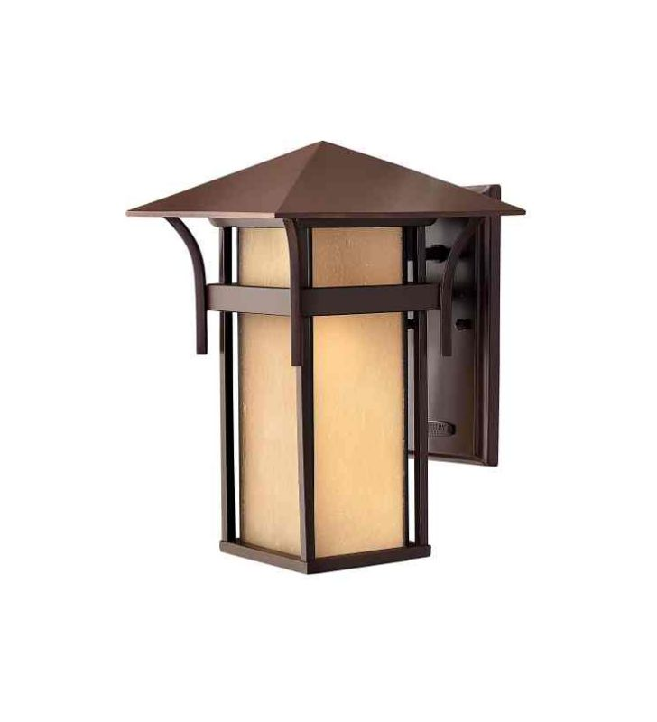 "Hinkley Lighting H2574-LED 14"" High LED Outdoor Lantern Wall Sconce Sale $359.00 ITEM#: 1811319 MODEL# :2574AR-LED UPC#: 640665257496 :"