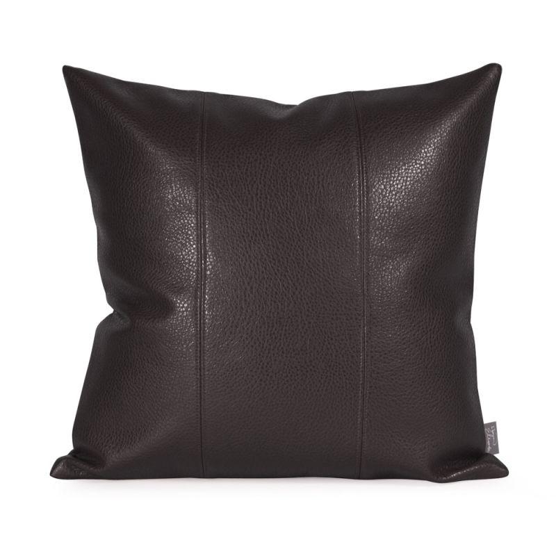 Howard Elliott 1-194 16 X 16 Square Pillow Avanti Black Home Decor