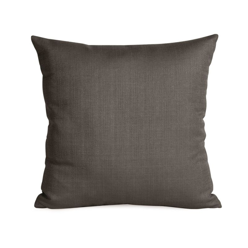 Howard Elliott 1-201 16 X 16 Square Pillow Sterling Charcoal Home