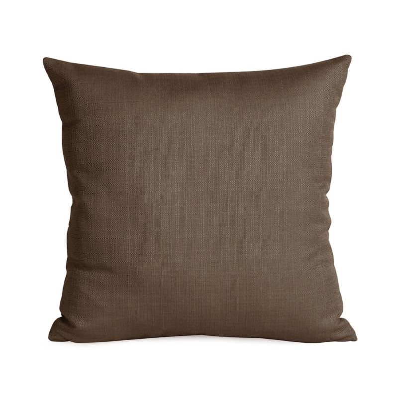 Howard Elliott 1-202 16 X 16 Square Pillow Sterling Chocolate Home