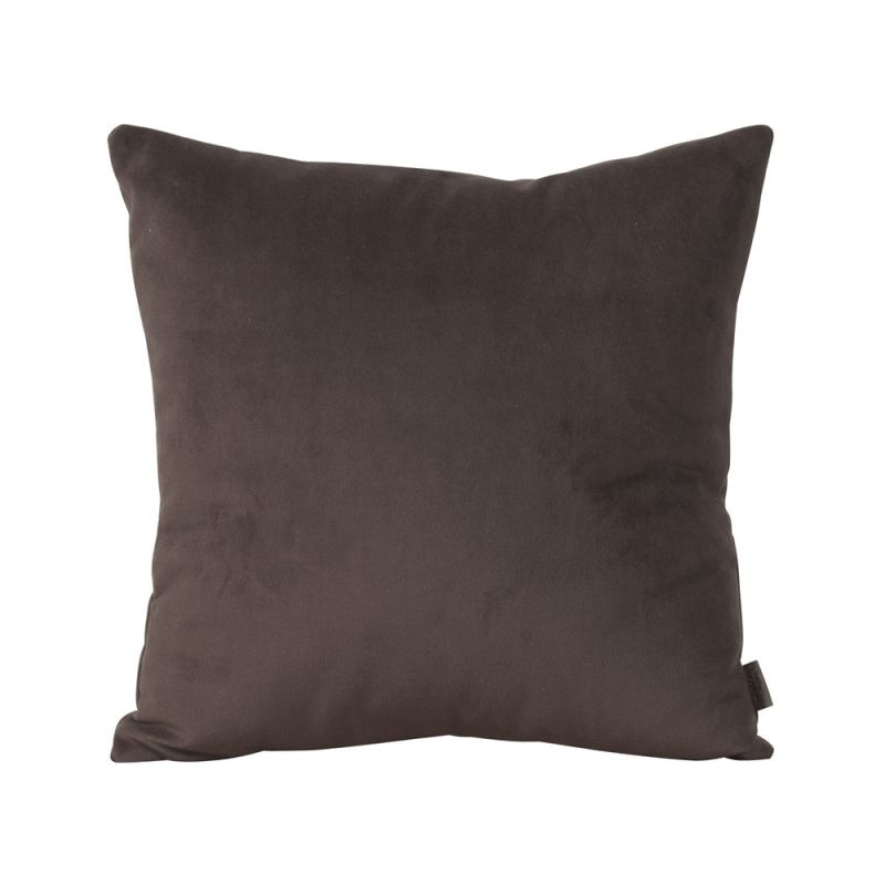 Howard Elliott 1-220 16 X 16 Square Pillow Bella Chocolate Home Decor