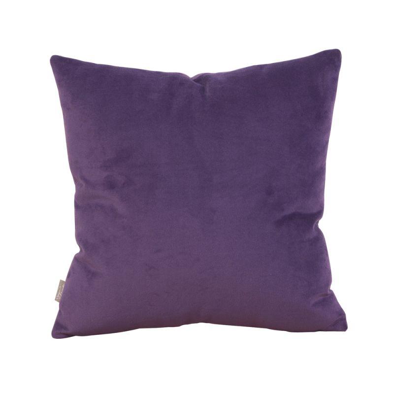 Howard Elliott 1-223 16 X 16 Square Pillow Bella Eggplant Home Decor